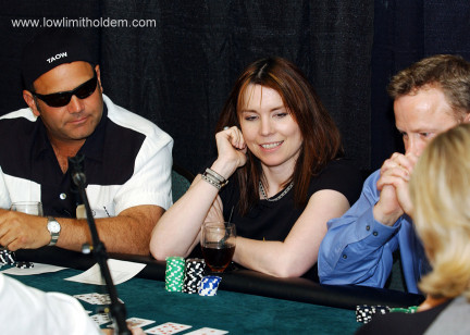 Annie Duke Playing Poker